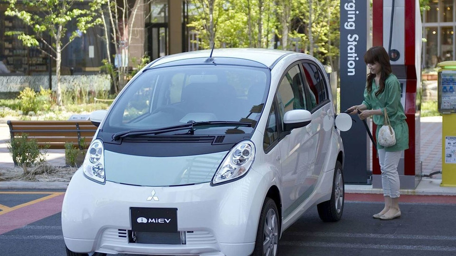 Mitsubishi Reveals electric i-MiEV production version