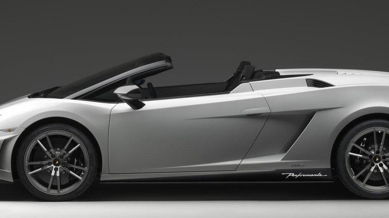 Lamborghini Gallardo Lp 570 4 Spyder Performante Breaks Out Early
