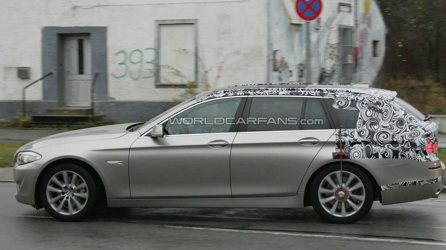 BMW 5-Series Touring Wagon Announced for Leipzig Debut
