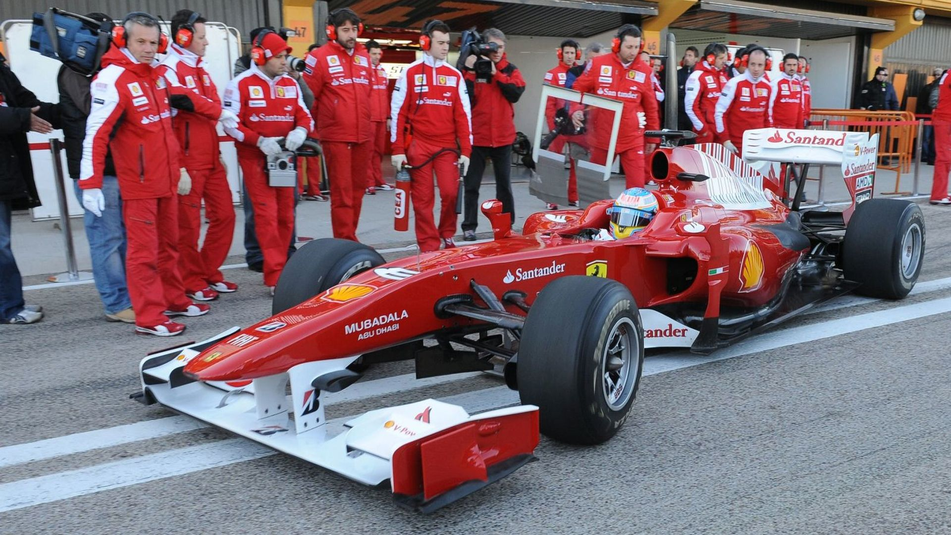 New Ferrari Better Than 2009 Renault Alonso