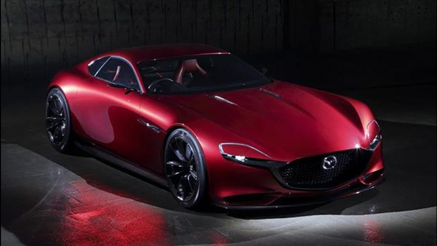 Mazda RX-Vision, la futura erede della RX-7 [VIDEO]