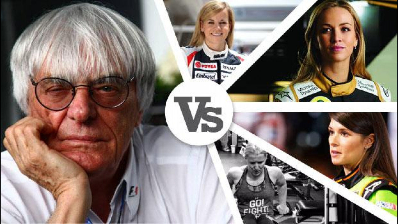 [Copertina] - Caro Ecclestone, hai paura delle donne in F1?