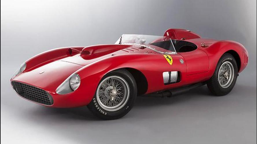 Ferrari 335 Sport Scaglietti, la Rossa da record