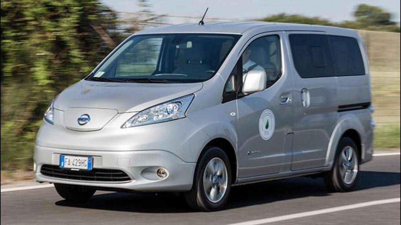 [Copertina] - Nissan e-NV200 Evalia, 7 volte elettrico