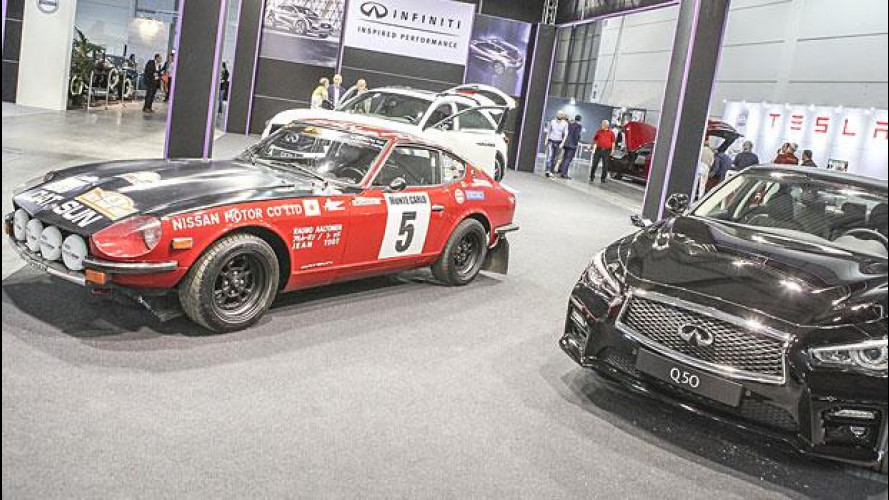Verona Legend Cars: Infiniti incontra Datsun [VIDEO]