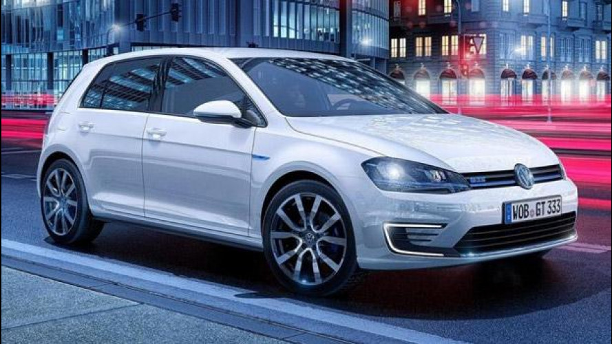 Volkswagen Golf GTE, ibrida alla spina