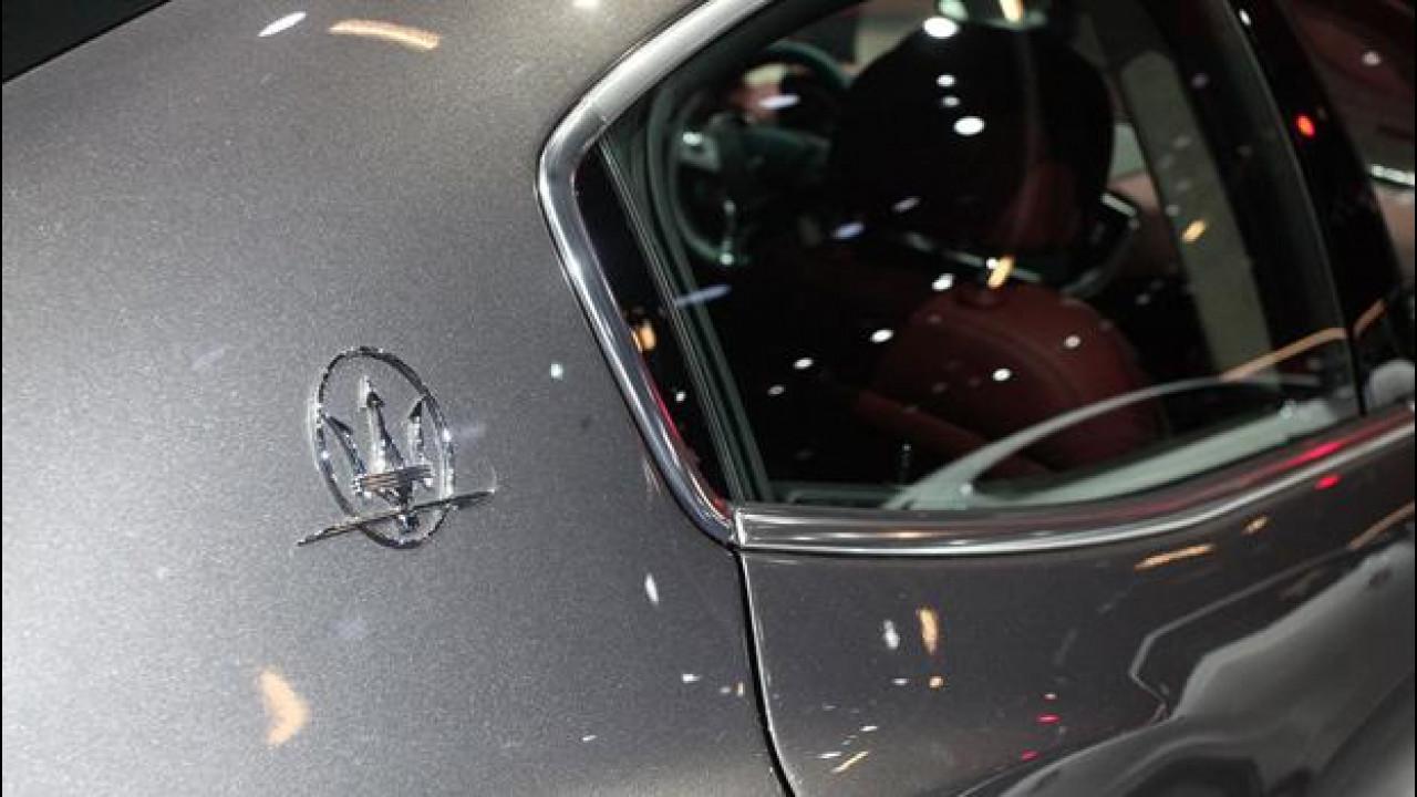 [Copertina] - Salone di Francoforte: Maserati conferma la Levante a Ginevra