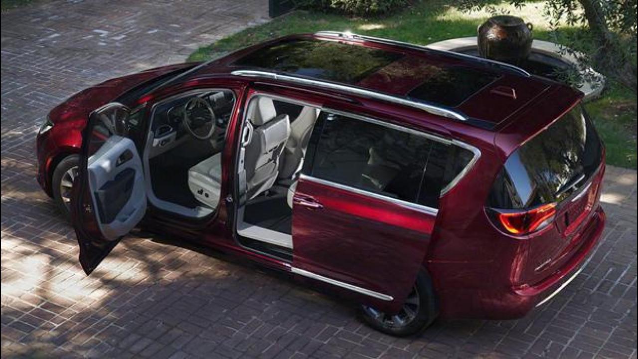 [Copertina] - Chrysler Pacifica, a Detroit ritorna la grande monovolume [VIDEO]