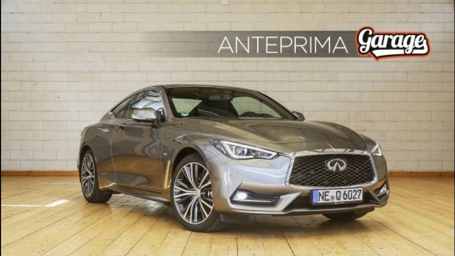 Infiniti Q60, dietro le quinte del prossimo Garage di OmniAuto.it [VIDEO]