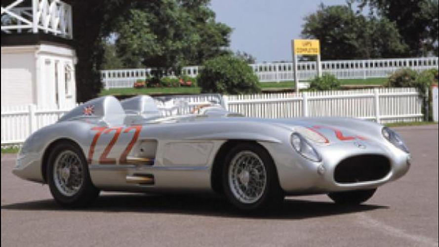 """Mercedes 300SLR """"722"""", la leggenda torna alla Mille Miglia"""