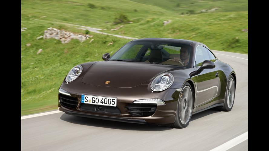 Nuove Porsche 911 Carrera 4 e Carrera 4 S