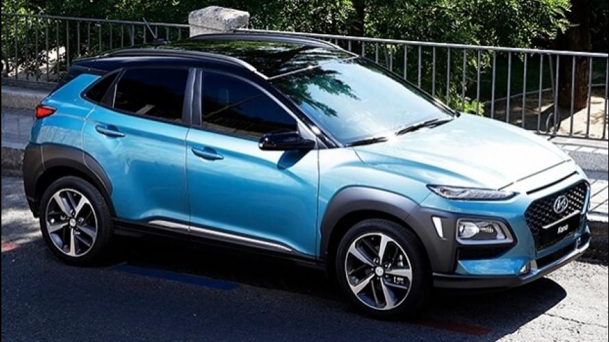 Hyundai Kona, il SUV con l'armatura