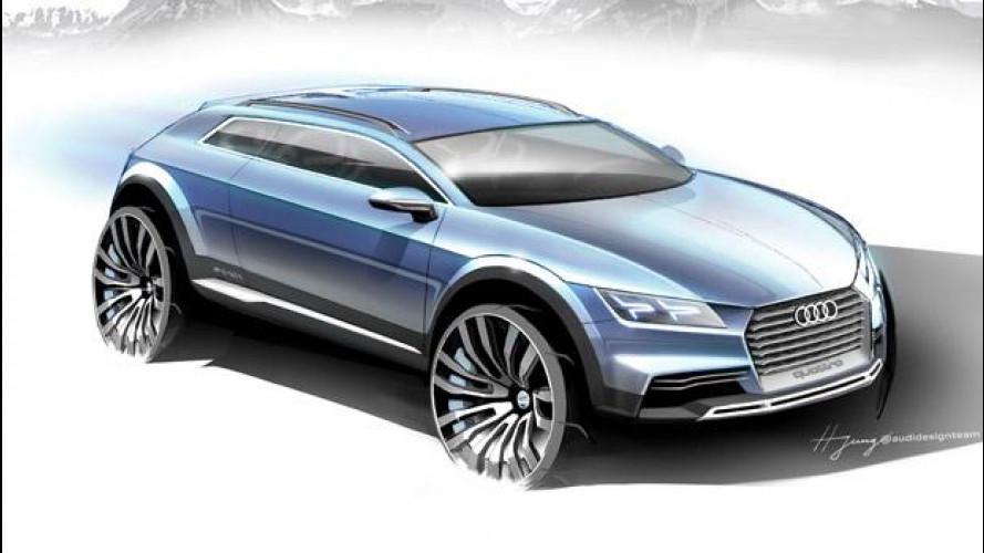Audi Q1, il concept a Detroit