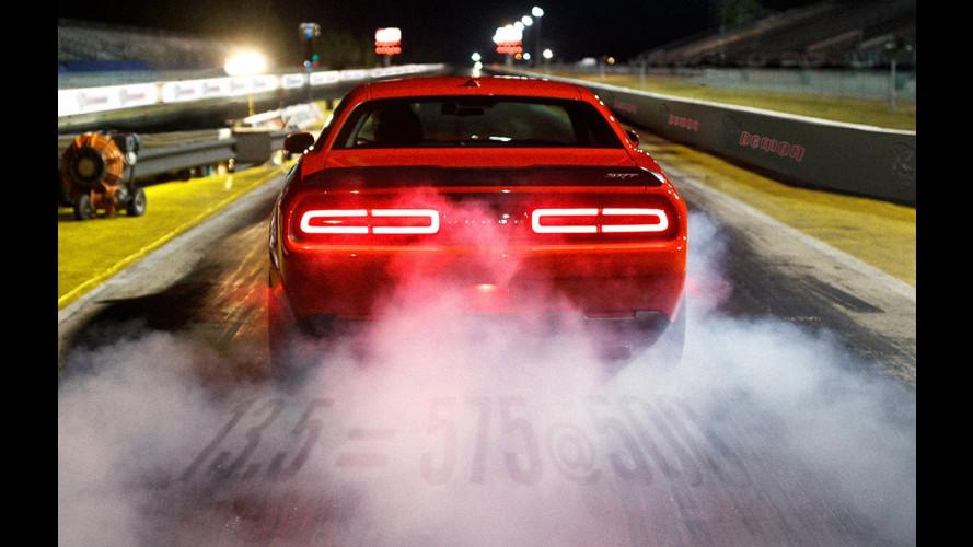 Dodge Challenger SRT Demon, un urlo infernale [VIDEO]