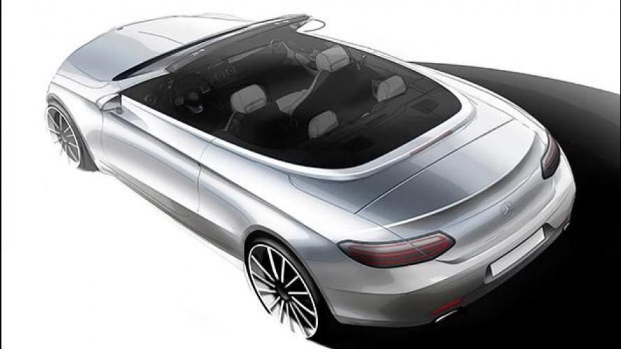 Mercedes Classe C Cabrio, come ti scopro la media