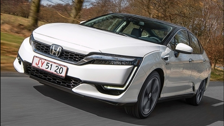 Honda Clarity Fuel Cell, un altro mondo è possibile