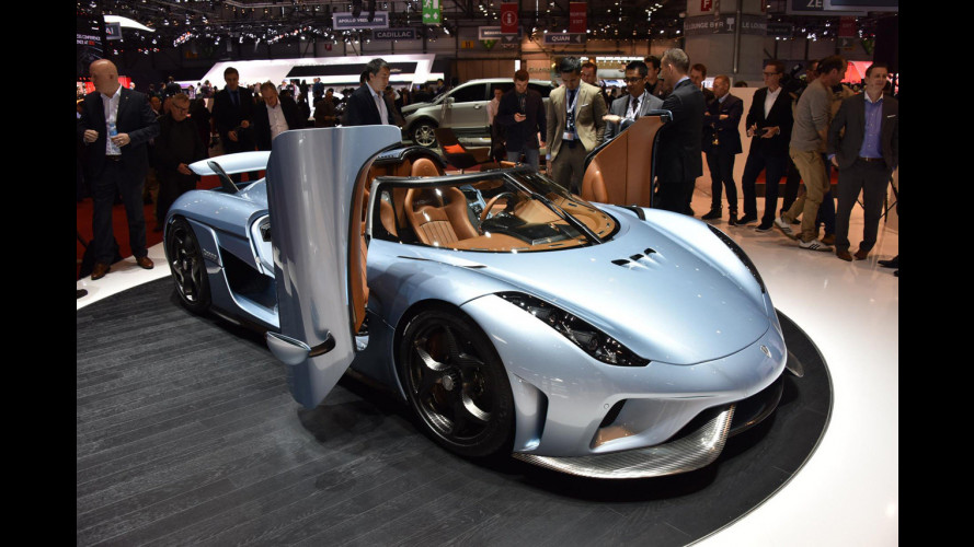 Salone di Ginevra, ruggito da 1.500 CV per la Koenigsegg Regera