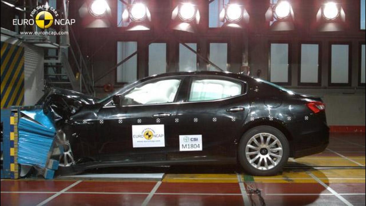 [Copertina] - Crash Test: quanto sono sicure le ultime auto testate