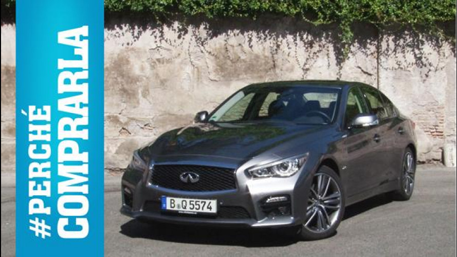 Infiniti Q50, perché comprarla... e perché no [VIDEO]