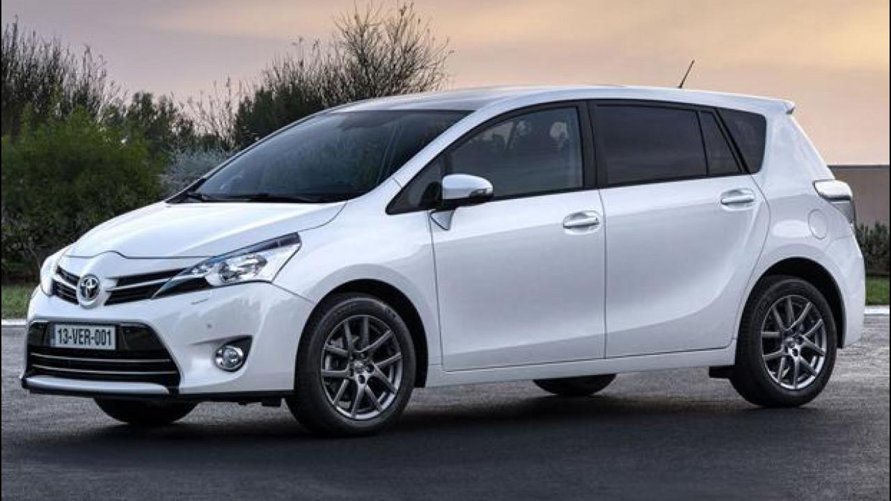 [Copertina] - Toyota Verso MY 2014: debutta il 1,6 D-4D da 112 CV