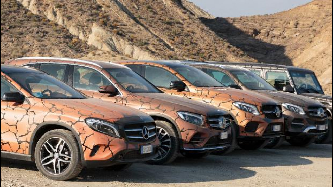 "[Copertina] - ""Terra Arsa"", i SUV Mercedes secondo Garage Italia Customs"