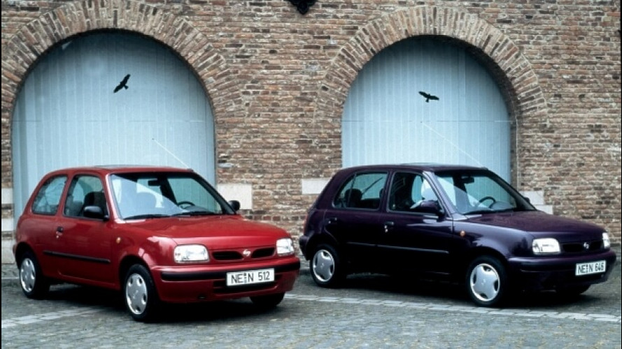 Nissan Micra, quella del 1992 ha fatto la storia