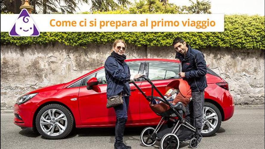 Viaggi in auto, come si trasporta un neonato [VIDEO]