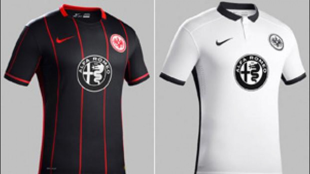[Copertina] - Alfa Romeo, il nuovo logo sulle maglie dell'Eintracht