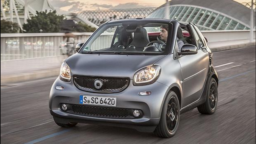 smart fortwo cabrio, l'anti-stress cittadino