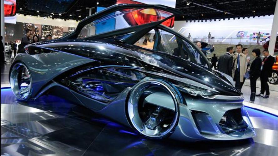 Salone di Shangai, Chevrolet stupisce con la concept futurista