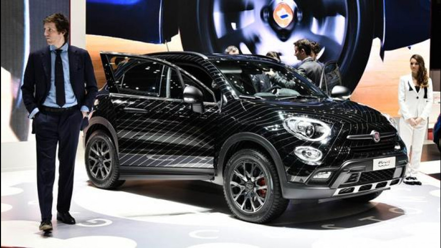 Fiat 500X, battuta all'asta quella da 144.000 euro