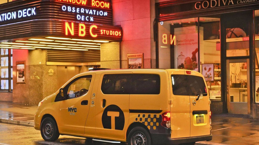 New Yorks 2014 Nissan Nv200 Taxi Of Tomorrow Makes Public Debut