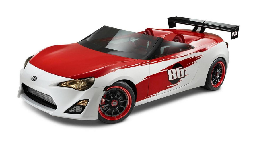Scion FR-S Speedster debuts