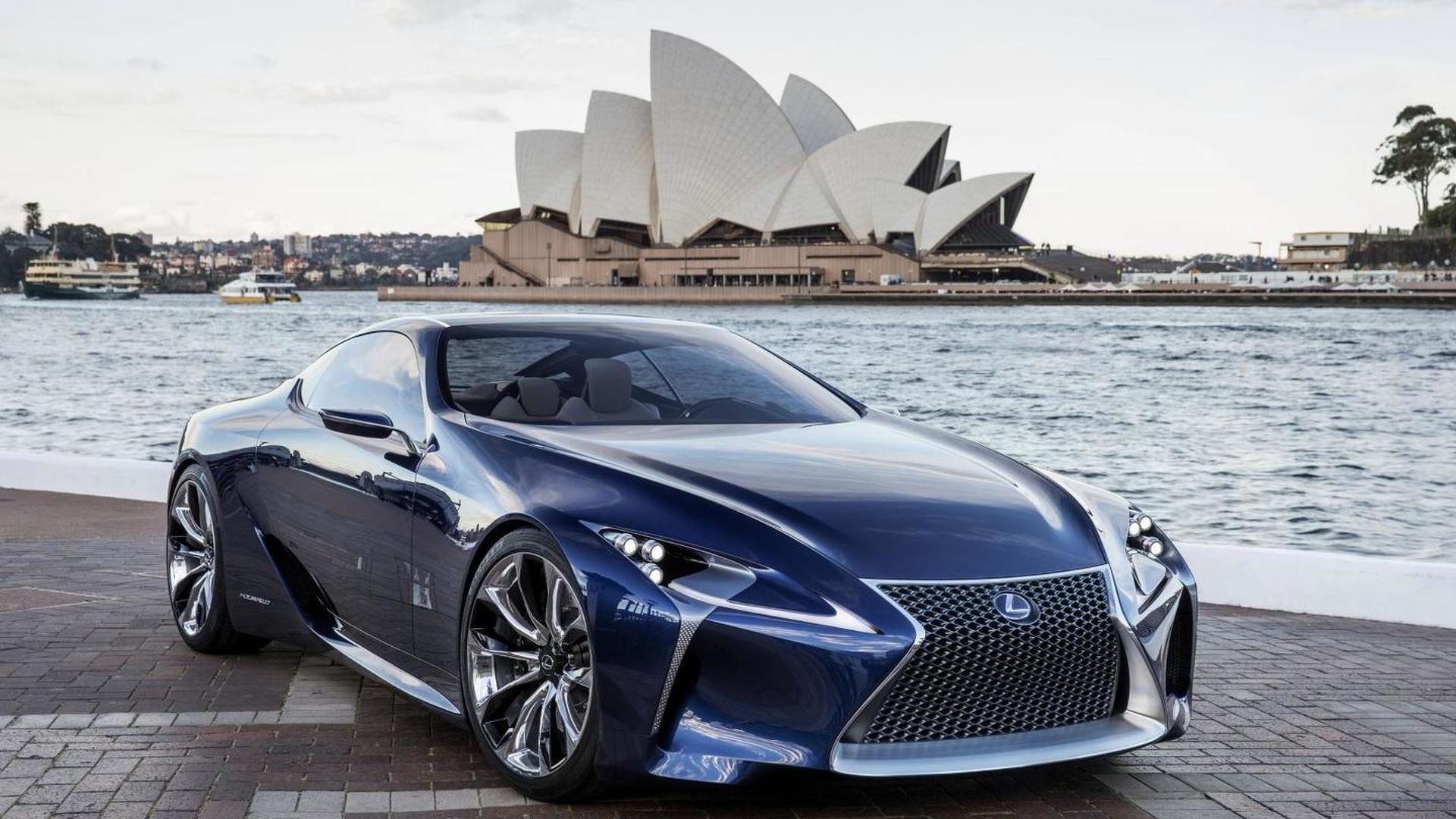 Lexus Lfa Successor Based On Lf Lc Concept Planned