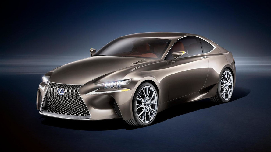 Lexus LF-CC concept revealed for Paris - previews future styling