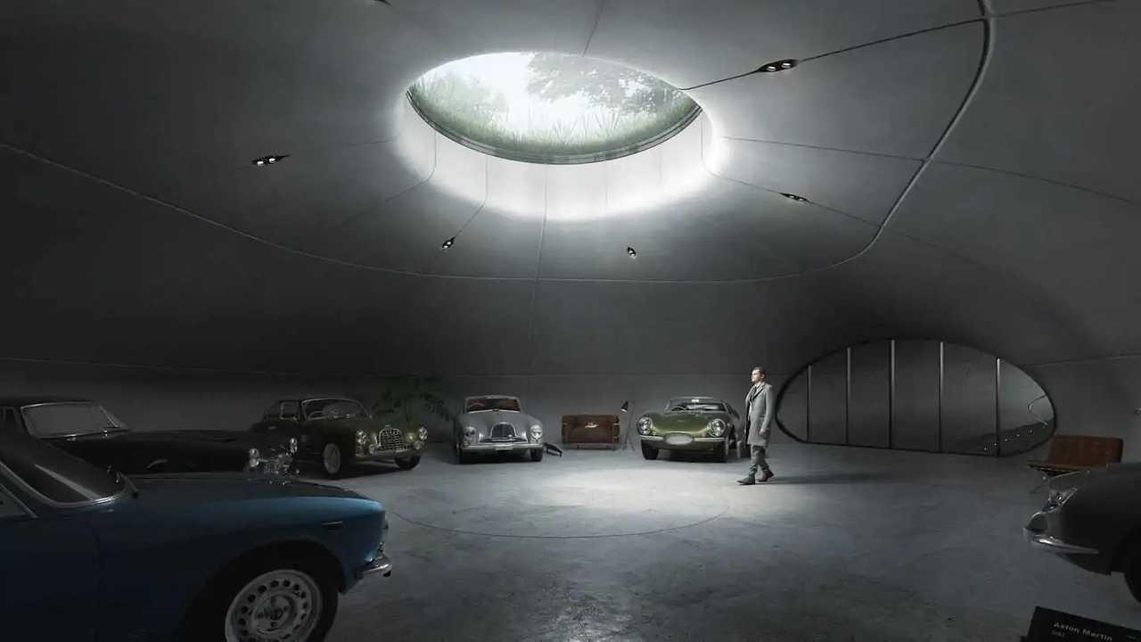 UNISM designs a Subterranean Car Showroom