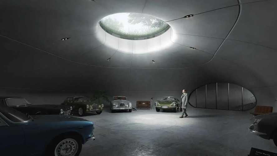 Bond-Bösewichte würden diese unterirdische Garage lieben