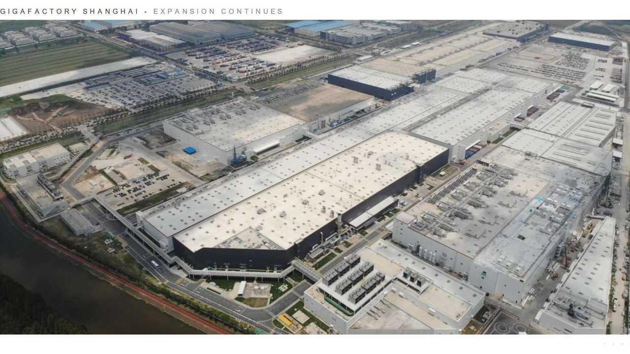 Tesla Giga Shanghai - Expansion continues (Tesla Q2 2021 report)
