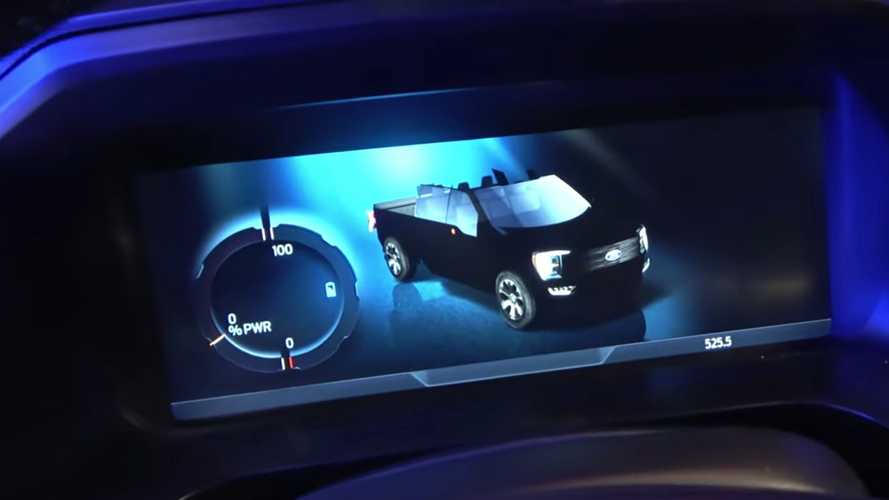 Roofless Ford F-150 On Lightning's Dash Has Us Scratching Our Heads