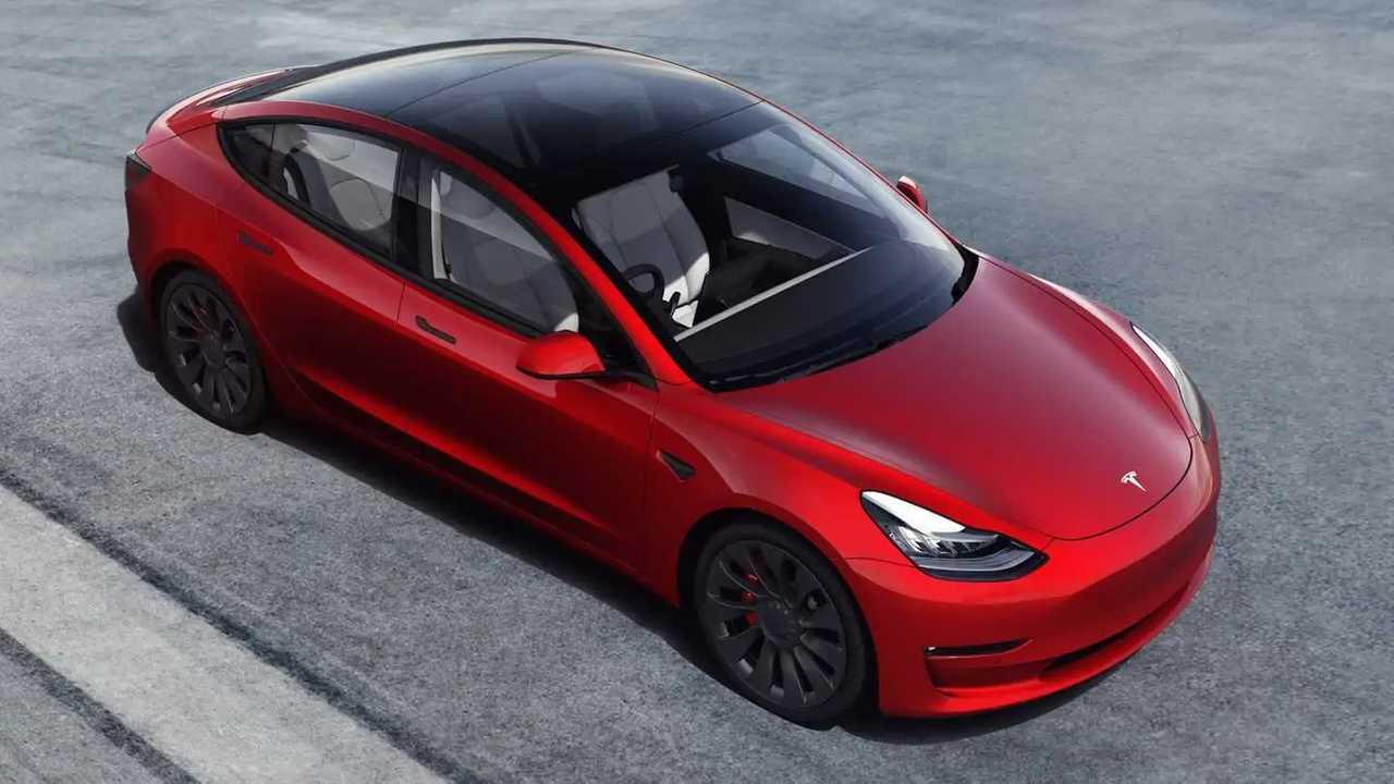 Tesla Model 3 RHD