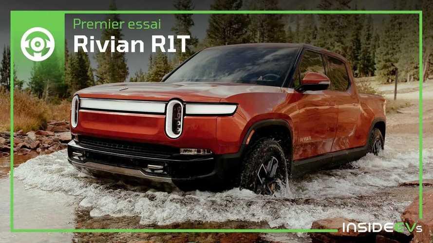 Essai Rivian R1T, au volant du pick-up électrique révolutionnaire