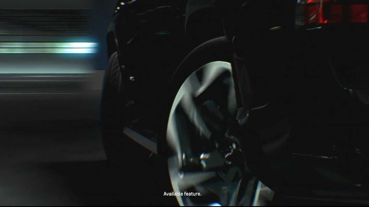 Chevy Silverado EV four-wheel steering teaser