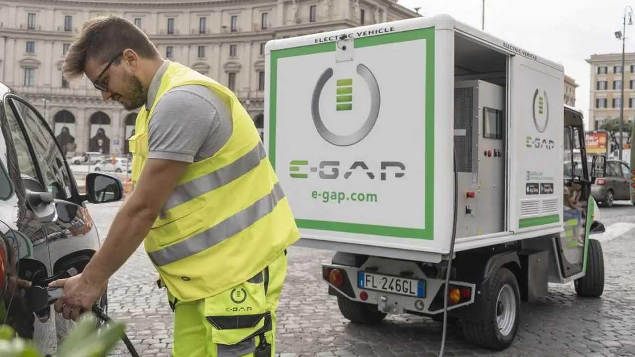 Un operatore E-Gap al lavoro