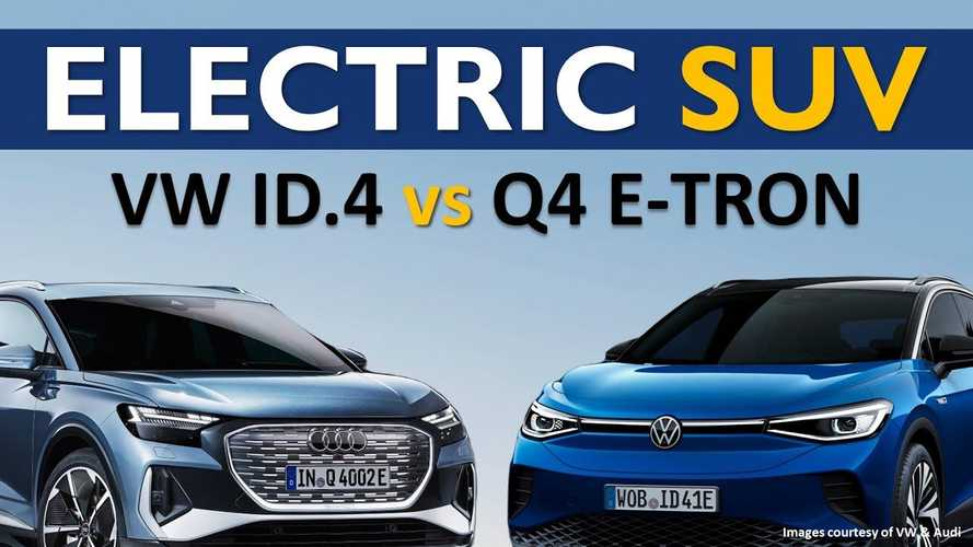 Audi Q4 E-Tron Or VW ID.4: Best $40K Tesla Model Y Rival?