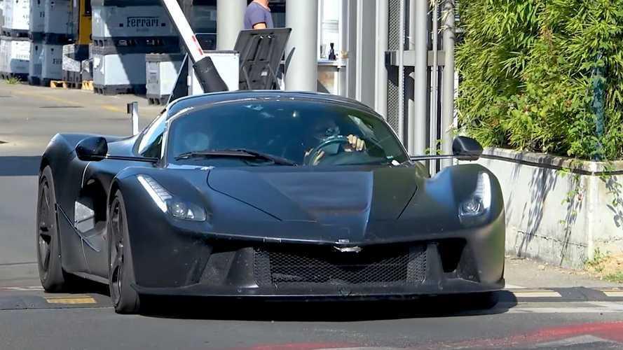 Fotos espía de un prototipo del Ferrari LaFerrari