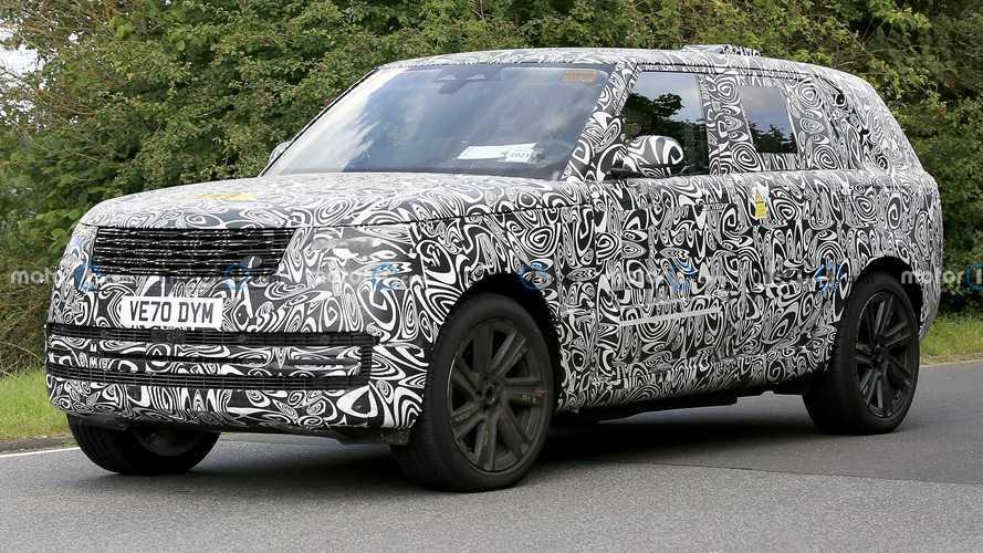 Şarj Edilebilir Hibrit Land Rover Range Rover Casus Fotoğrafları