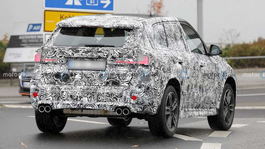 New BMW X1 Spied With Quad Exhausts, But Don't Call It An X1 M