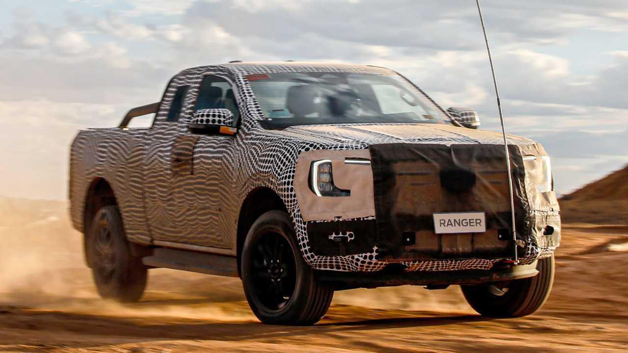Neuer Ford Ranger (2022) erstmals auf offiziellen Teasern