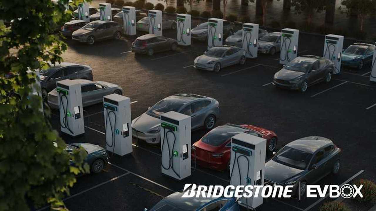 Bridgestone akan bangun 3.500 stasiun pengisian listrik di Eropa.