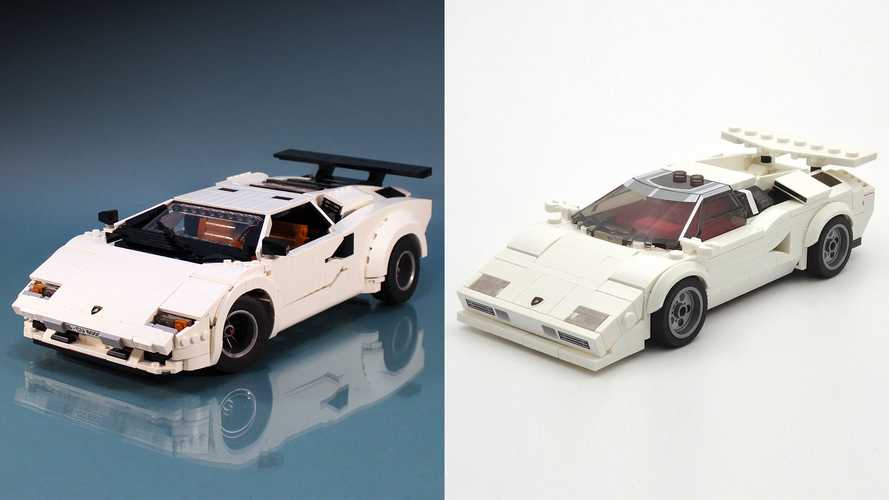 Two Ways You Can Build The Lamborghini Countach That Lego Won't